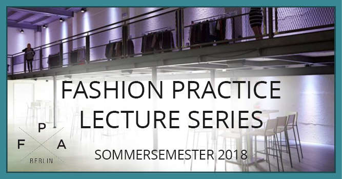 Fashion Practice Lecture Series 2018