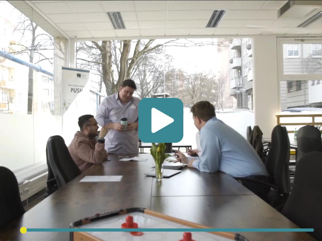 Video des PUSH Startup Centers